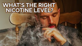 How do I decide on the right Nicotine level? – Vaping a hundred and one