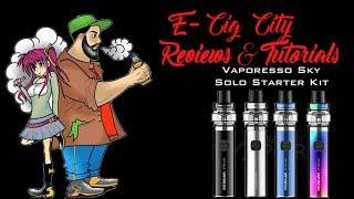 The New Vaporesso Sky Solo Starter Package Overview vs Smok Vape pen 22 – E Cig Metropolis Reviews &amp Tutorials