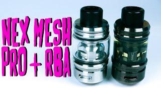 Nex Mesh Pro Sub Tank + RBA Deck   Wotofo – A Critically great all rounder