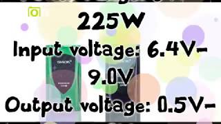SMOK ProColor 225W TC Box Mod
