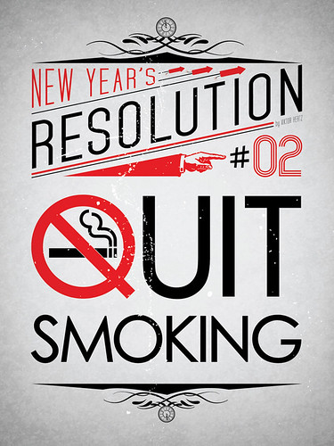 New Year's Resolution #02: Quit using tobacco
