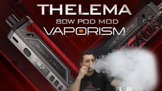 Misplaced Vape Thelema 80W – Apró hibák mellé prémium anyag, bomba akku és hatalmas gőzök!