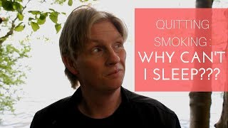 Quitting Cigarette smoking and Insomnia
