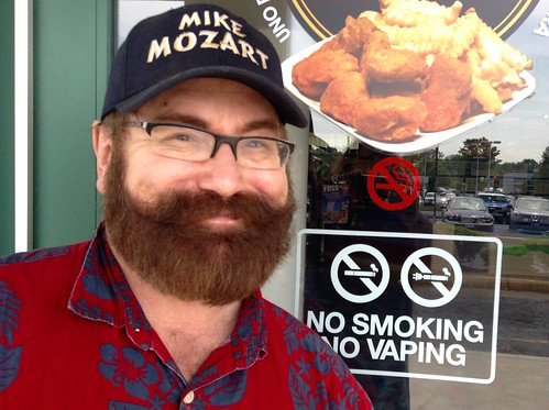 No Vaping Sign, 6/2015 Starplex Cinema, by Mike Mozart of TheToyChannel and JeepersMedia on YouTube #Vaping