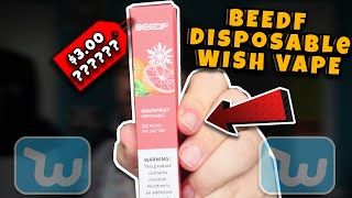 I Bought Yet another Disposable Vape From Wish BEEDF Evaluation