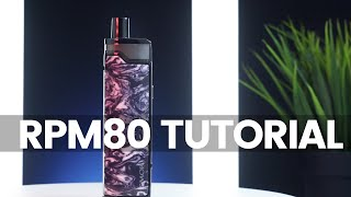 Smok RPM80 Tutorial // How To Change A Coil And Use The Mod