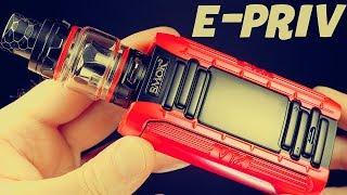 SMOK E-Priv Vape Package! Dual Mesh Coil Head!