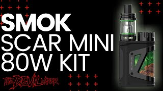 SMOK Scar Mini Package Overview