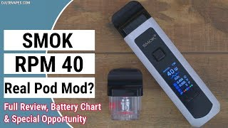 SMOK RPM forty Package – The Real Pod Mod???