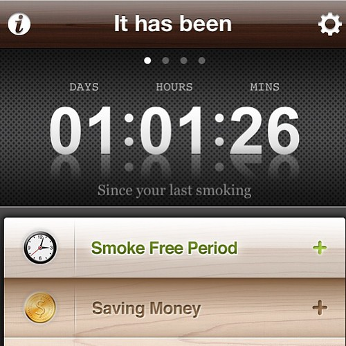 And no one fucking died. #quitting #smoking