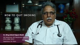How to give up smoking? Advice by doctor