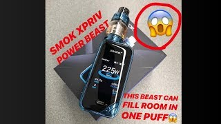 SMOK XPRIV 225W BEAST Package WITH Most affordable Price tag || MAD More than HOOKAH || VAPE INDIA