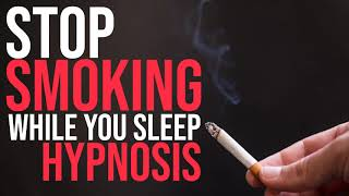 Cease Smoking Although You Rest Hypnosis | Guided Meditation | Give up Tobacco Hypnotherapy